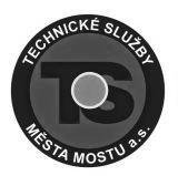 Generální partner - Technické Služby Most - http://www.tsmost.cz/
