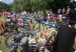 Krušnoman MTB Triathlon - 2009 - Zum ersten Mal ein Mountainbike und fast doppelt die Mitarbeit der Konkurrenten. Mountainbike Holt. Zkracovali...
